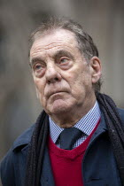03-02-2021 - Harry Chadwick, picket, Shrewsbury 24 appeal hearing, Royal Courts of Justice, London © Jess Hurd