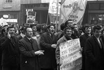 12-01-1971 - National strike against the 1971 Industrial Relations Bill, Liverpool 1970 © NLA