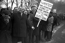 12-01-1971 - National strike against the 1971 Industrial Relations Bill, Luton, Bedfordshire 1970 © NLA