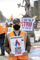 08-03-2021 - British Gas Pickets, Bristol. Engineers strike against fire and rehire dispute - against imposed cuts to their terms and conditions © Paul Box